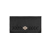 Mohave Canyon Ladies' Tri-Fold Wallet in Black | Lufli Boutique