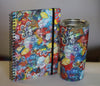 Bops Amazing Grace Notebook and Stainless Steel 20 oz. Tumbler at Lufli Boutique