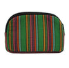 Bops Handmade Guatemala Coin Purse Travel Pouch back of pouch in green at Lufli Boutique