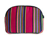 Bops Handmade Guatemala Coin Purse Travel Pouch back of pouch in pink at Lufli Boutique