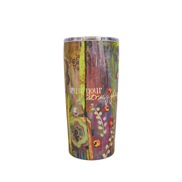 Bops Amazing Just Breathe Stainless Steel 20 oz. insulated Tumbler at Lufli Boutique