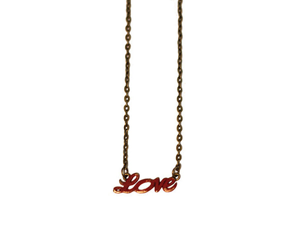 Gleeful Peacock Love Charm Necklace - Lufli