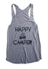 Lazy J Happy Camper Tank Top in Gray - Lufli.com | Lufli Boutique