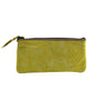 Leaders in Leather Vaquetta Tooled Leather Wristlet Canary Back