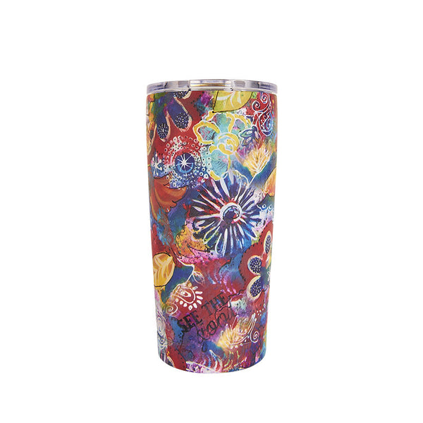 Lufli Bops See The Good 20 ounce Stainless Steal Artisan Tumbler