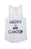 Lazy J Happy Camper Tank Top White - Lufli.com | Lufli Boutique
