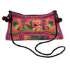 Wabags Vintage Curve Crossbody Bag in Pink at Lufli Boutique.