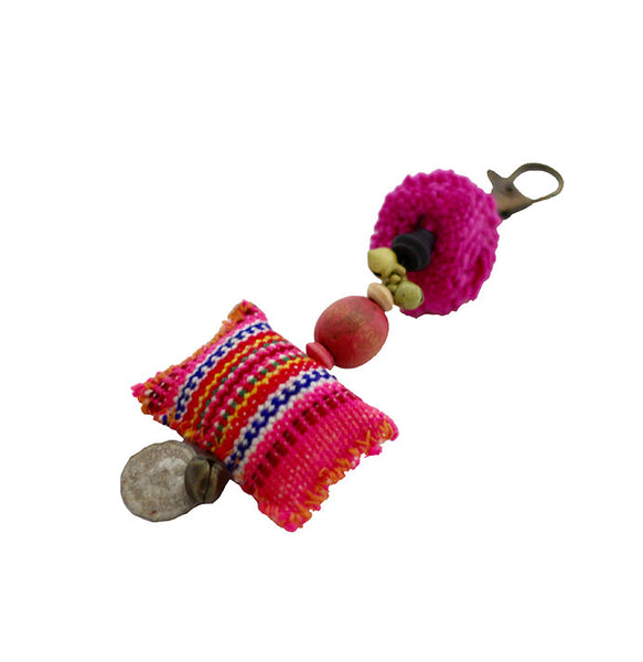 Wabags Artisan Handmade Piso Keychain Charm Lufli Boutique
