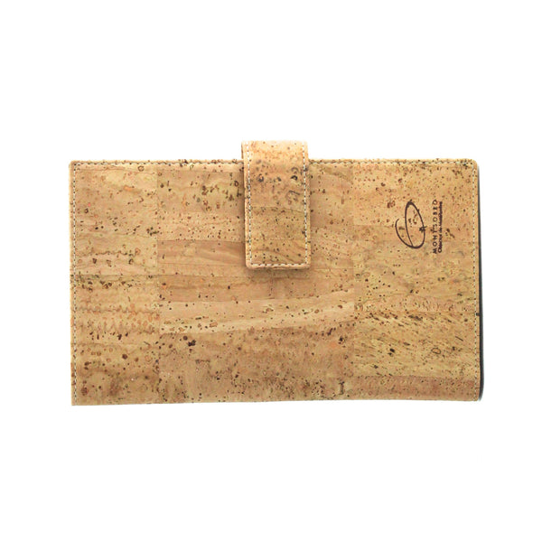 Genuine Cork Wallet - Natural Brown