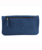 Cut n' Paste Victoria Leather Clutch in Ink Back of Bag - Lufli Boutique