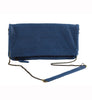 Cut n' Paste Victoria Leather Clutch Ink - Lufli Boutique
