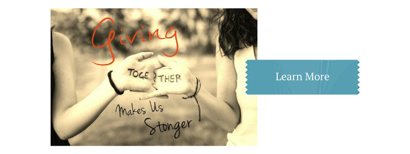 Giving Makes us Stronger at Lufli Boutique