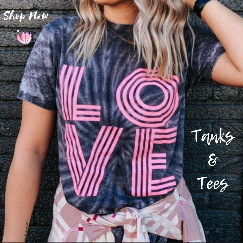 Comfortable Graphic Tees, T-shirts at Lufli Boutique