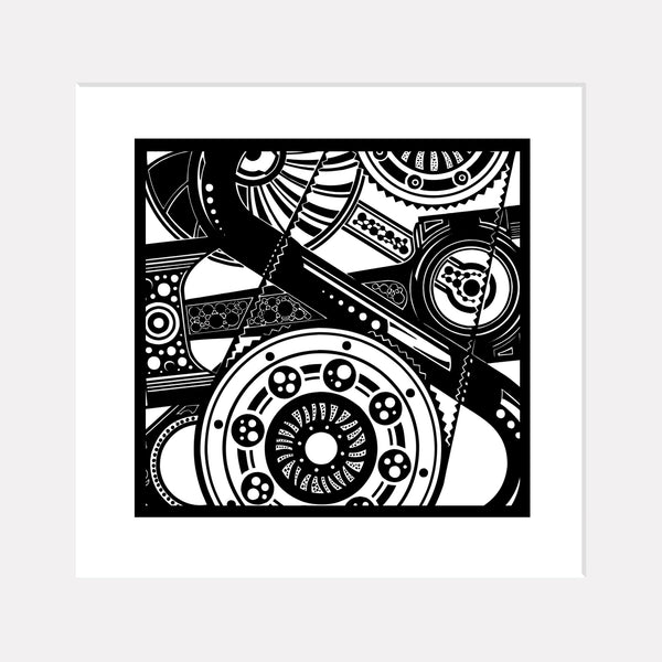 Mechanical Mash - <br>Limited Edition Print