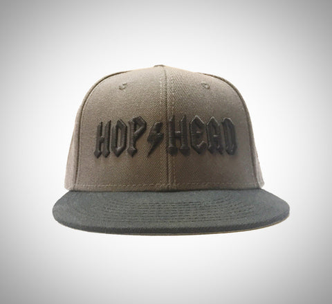 Craft Beer Hat | Rock 'n' Roll Hophead in embroidered 3D Puff