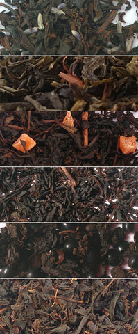 Free Shipping!  6 Flavors of Natural Tea Samples
