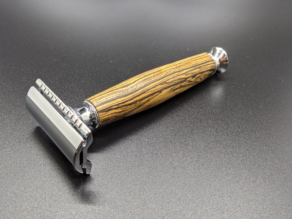 Limited Ed. Bocote Wood - Safety Razor