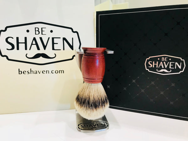 full shave kit razor stand brush stand ceramic bowl