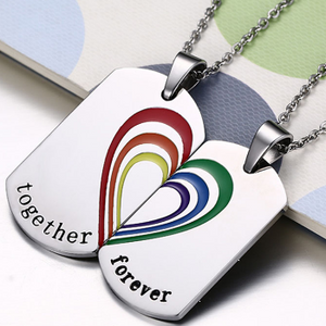 Together Forever Couple's Necklaces