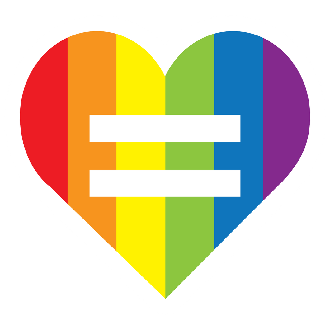 Equality Heart Magnet
