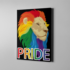 Leo Pride Canvas Print Art