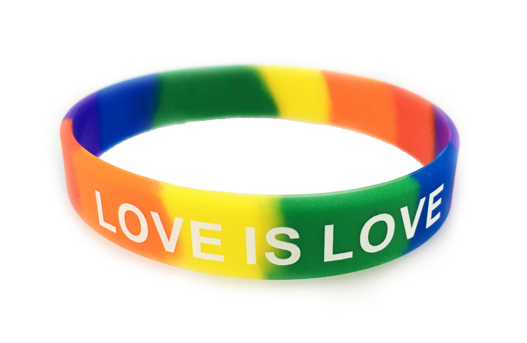 Love Is Love Wristband