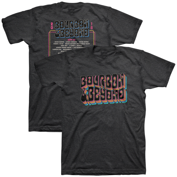 Retro Tee 2018 - Dark Grey Heather