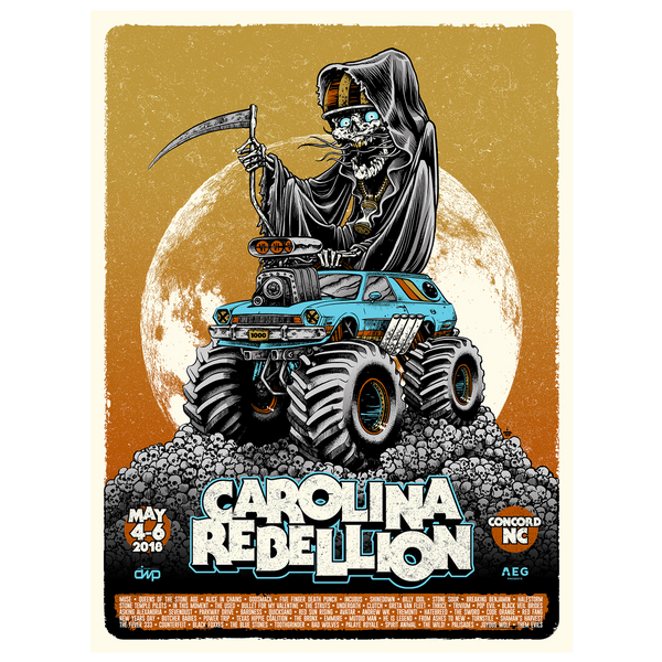 Carolina Rebellion 2018 Poster