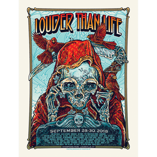 Louder Than Life 2018 Poster
