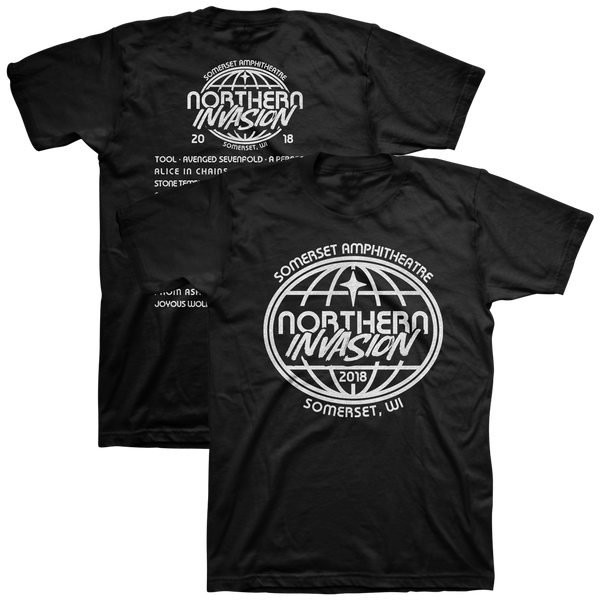 Northern Invasion Globe Tee 2018
