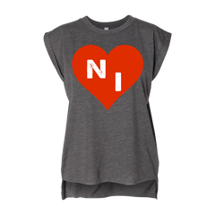Northern Invasion Heart Ladies Muscle Tee 2018