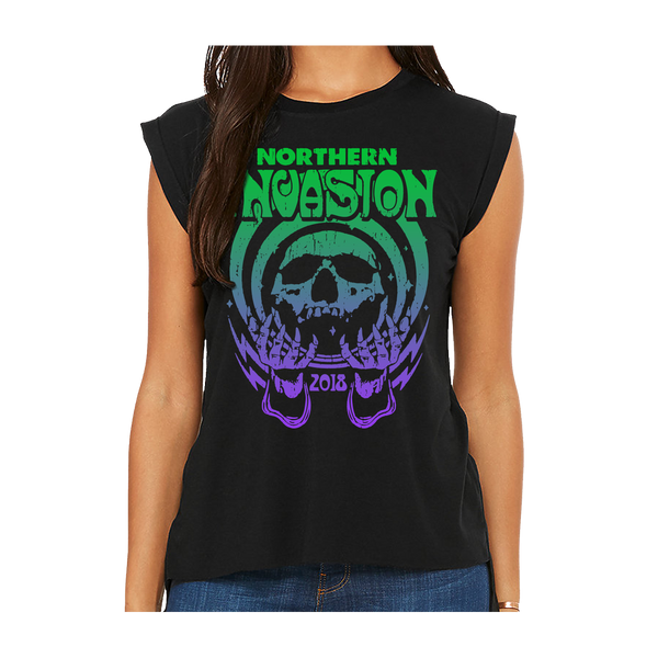 Northern Invasion Magic Ladies Muscle Tee