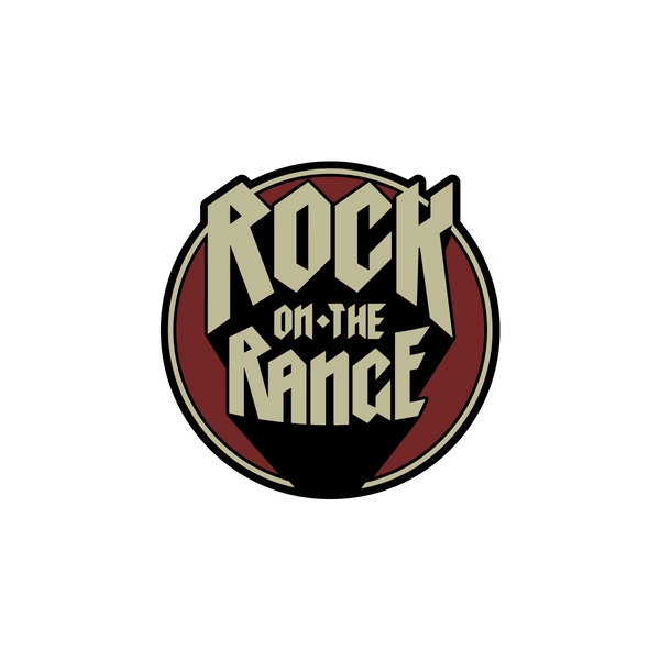 Rock On the Range Shadow Pin