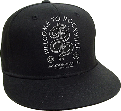 Welcome To Rockville Snapback 2017