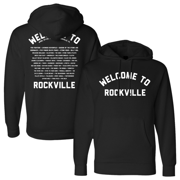 Welcome To Rockville Style Hoodie