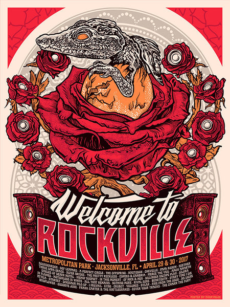 Welcome To Rockville 2017 Poster