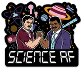 "SCIENCE AF VINYL DECAL(4"" )"