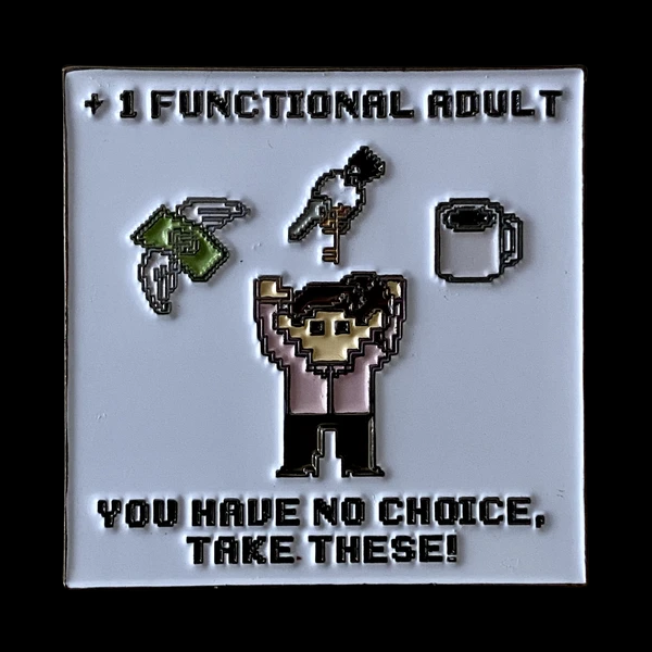 +1 Functional Adult (Female) Pin
