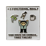 +1 Functional Adult (Male) Pin