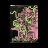 Tentacle Massage Parlor Pin