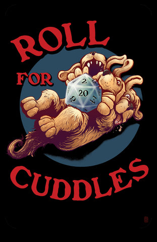 """Roll for Cuddles"" 11"" x 17"" Cerebus Glossy Print"