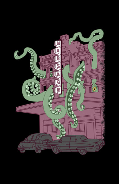 "Tentacle Massage Parlor 11"" x 17"" Print"