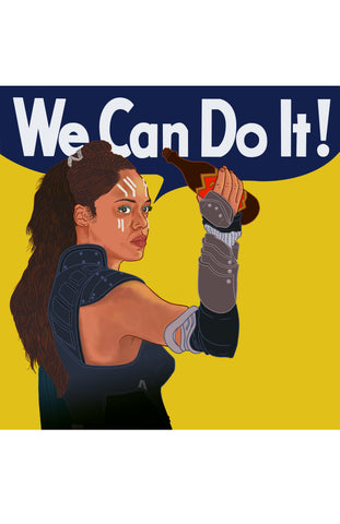 "Valkyrie ""We Can Do It!"" - 11"" x 17"" Print"
