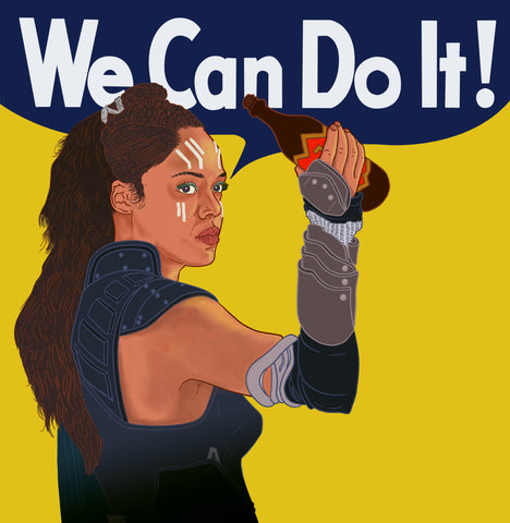 "Valkyrie ""We Can Do It!"" Shirt - Now Available for Pre-Order!"
