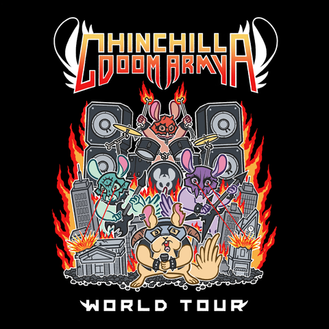 Chinchilla Doom Army Racerback Tank Top