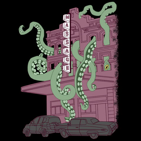 Tentacle Massage Parlor T-Shirt