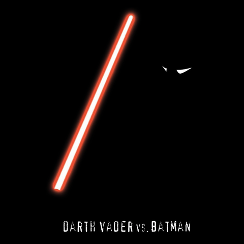 Darth Vader vs. Batman T-Shirt