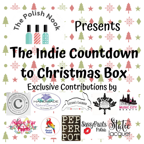The Polish Nook Presents: Indie Countdown to Christmas Box
