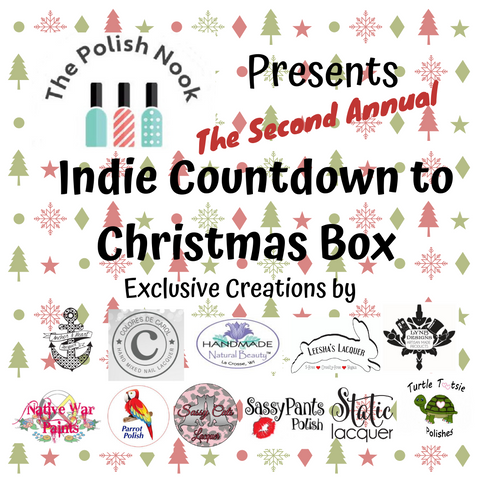 The Polish Nook Presents: Second Annual Indie Countdown to Christmas Box 2019