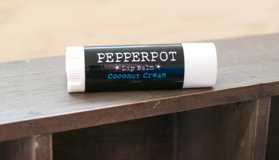 Vegan Lip Balm Coconut Cream